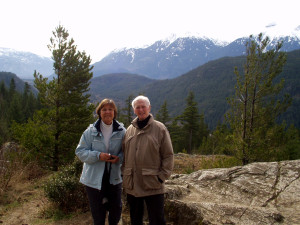 Bob and Marion at Whistler